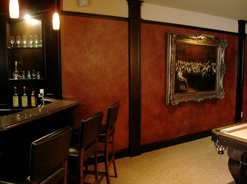 Faux leather paper bag walls a jane 39 s inspirations 2 pinterest brown paper colors and - Brown paper bag walls ...