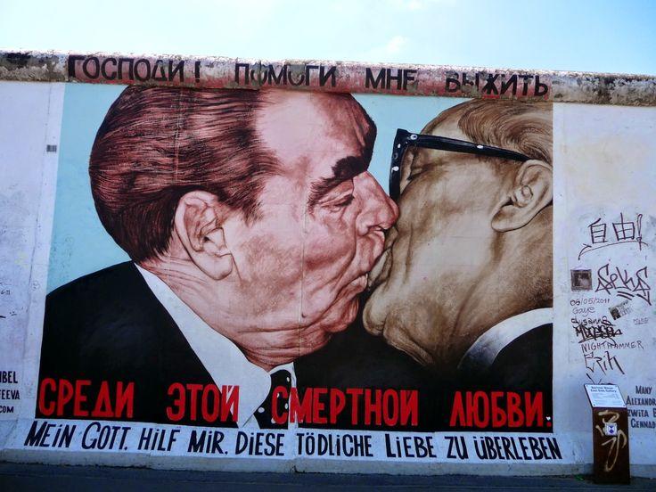 East Side Gallery - Street Art Mur de Berlin
