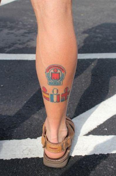 65 Fotos de tatuagem da modalidade Ironman do triathlon