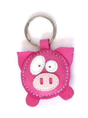 Nyckelring Funny Piggie - My lovely piggie! Passar utmärkt att hängas på tex resväskan!