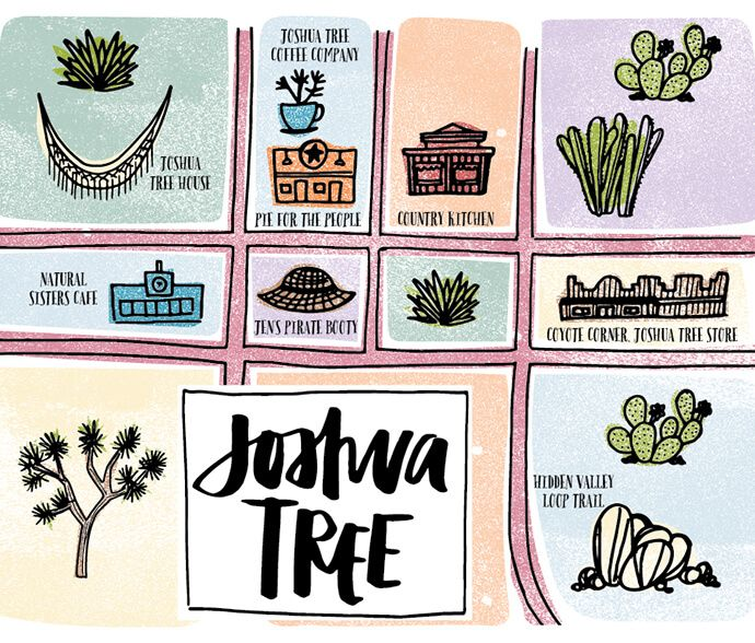 Where To Stay, Eat and Shop In Joshua Tree, California #GlitterGuide