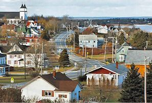 the village of Wedgeport N.S.