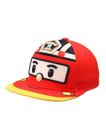 K2POP - [STAR IT ITEM] ROBOCAR POLI (ROY) KIDS FITTED CAP 902 (RE) FOR KIDS