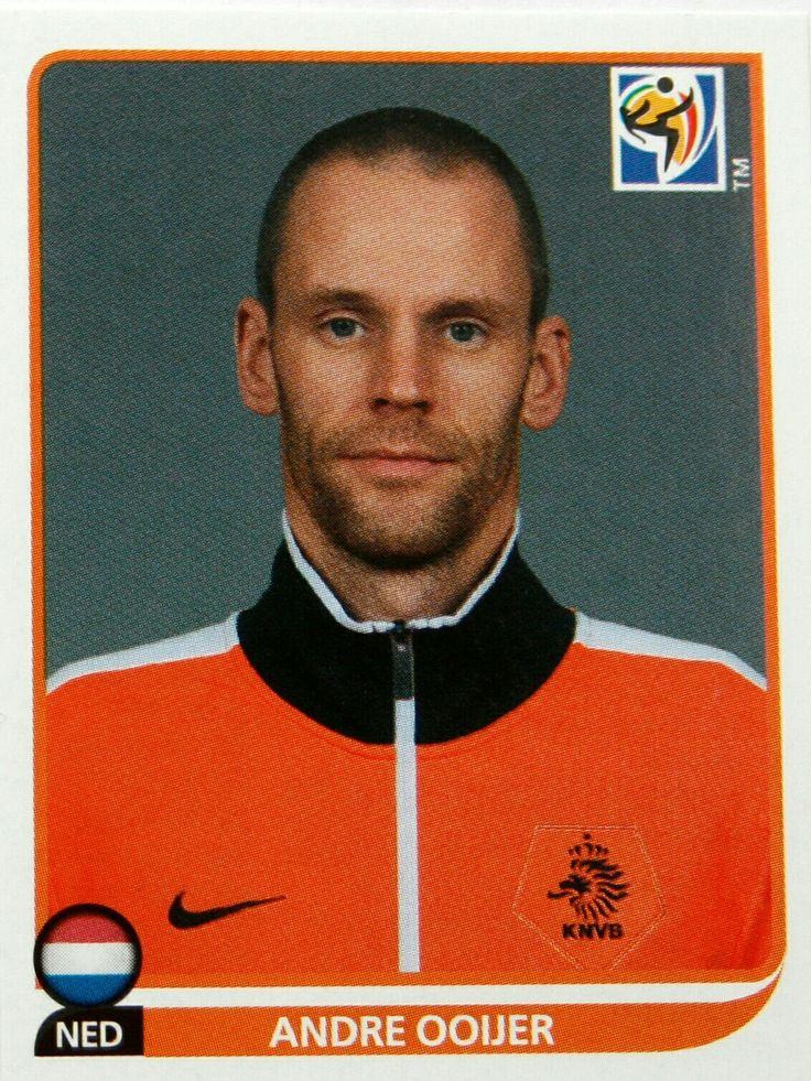 Andre Ooijer of Holland. 2010 World Cup Finals card.