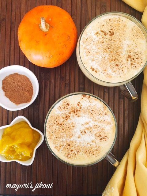 Mayuri's Jikoni: 728. Pumpkin Spice Latte