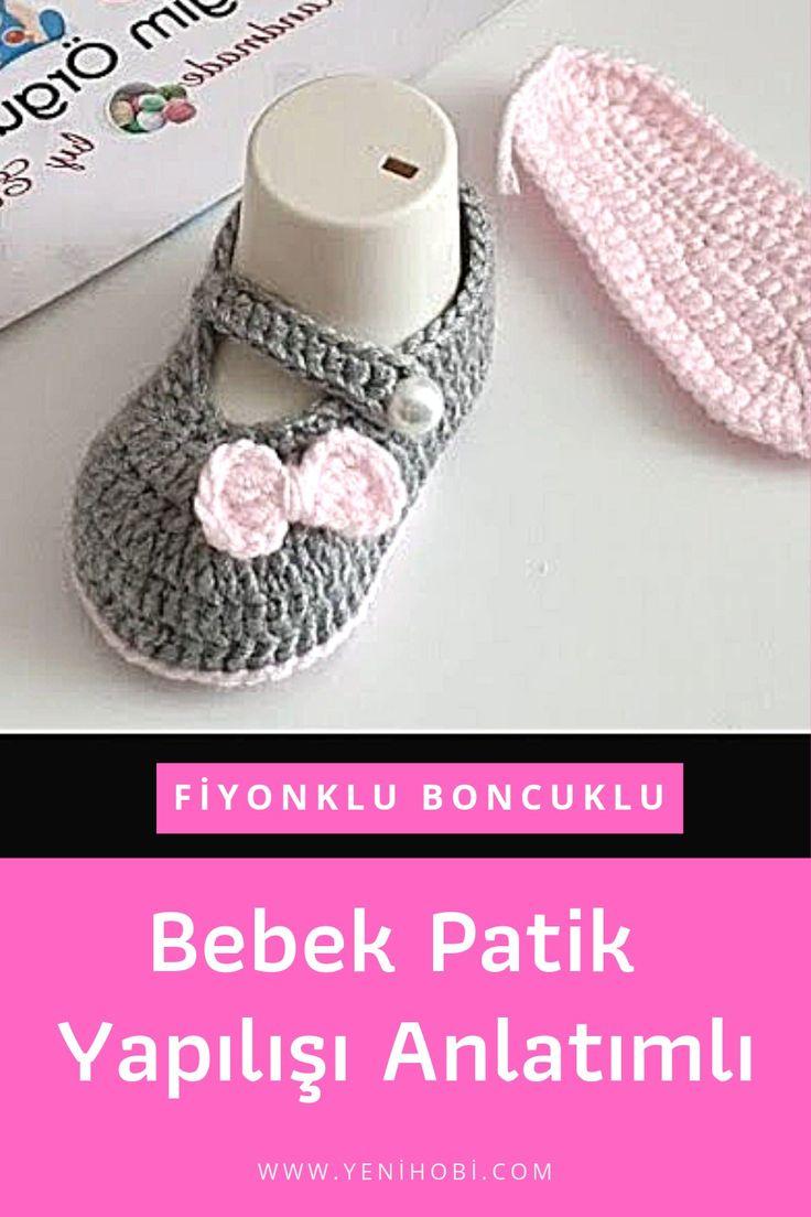 Bebek Patikleri | Yapılışı Anlatımlı Modelleri