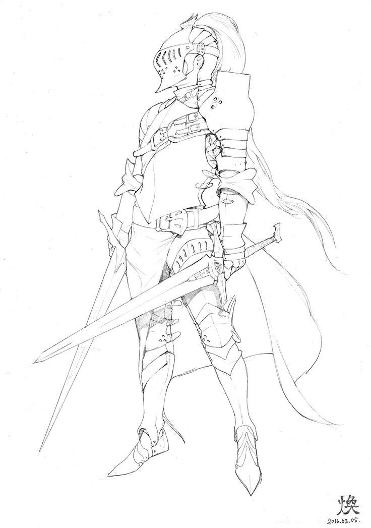 ArtStation - Pencil drawings, Hwan (煥)