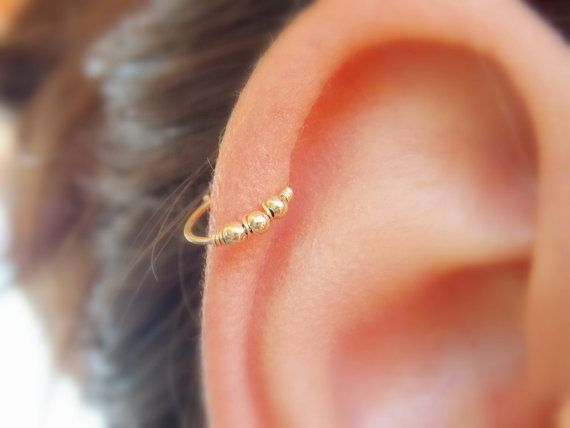 Boucle d'oreille de perles de cartilage Helix par sofisjewelryshop