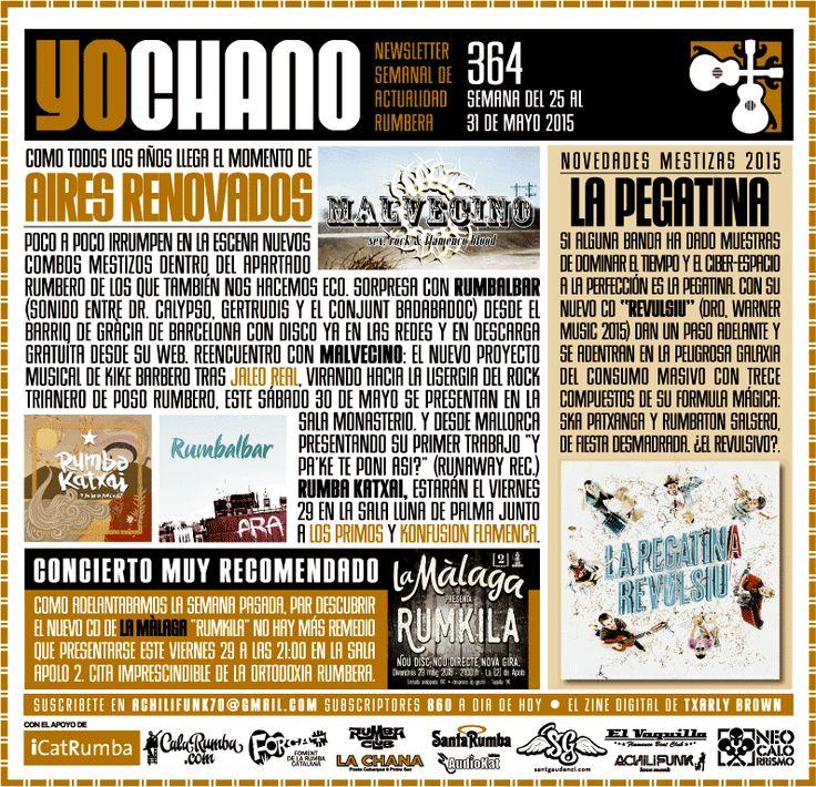 YOCHANO nº364 ~ SANT GAUDENCI Rumba Catalana