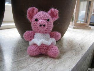 Little piggy / Gehaakt geluksvarkentje