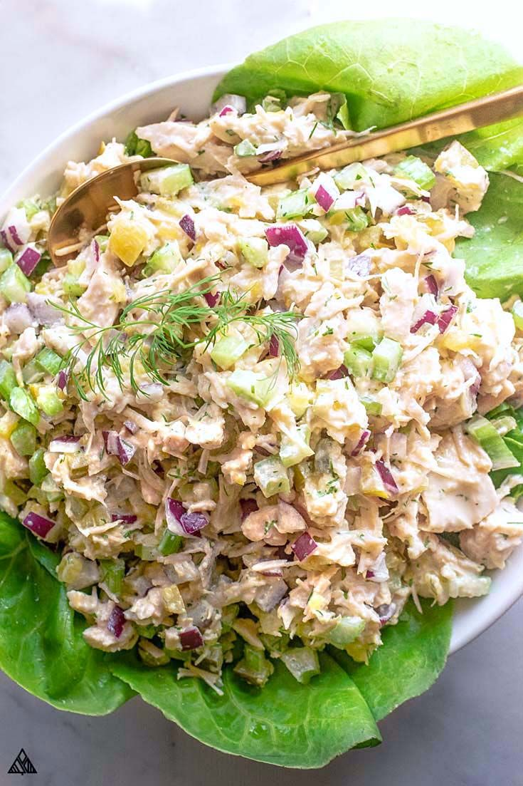 Canned Chicken Salad