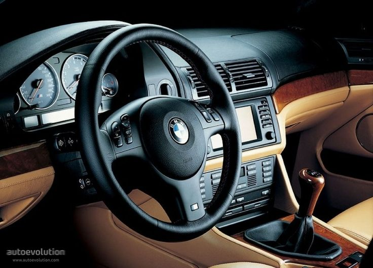 Bmw E39 M5 Interior With Double Din Stereo Head Unit Bmw