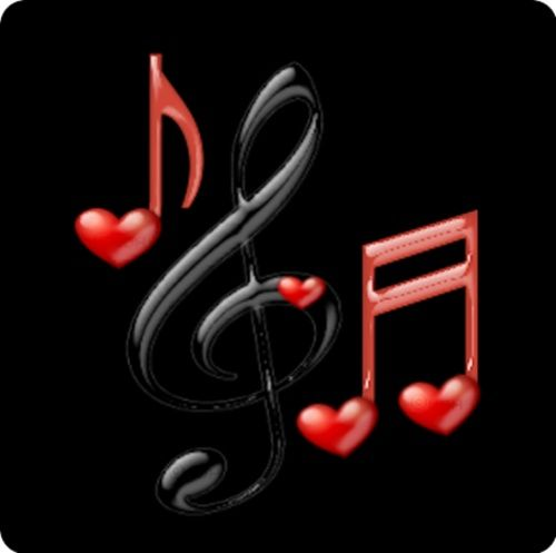 - Music Note Symbols in Black and Red - http://www.pinterest.com/TheHitman14/music-symbols-%2B/