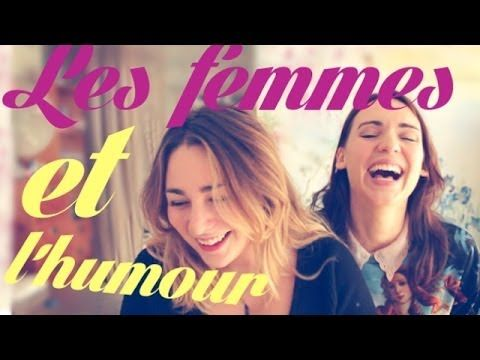 A video made by Natoo, french female youtuber, about the common perceptions of humour somehow not being related to women.