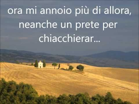 Azzuro - Adriano Celentato (with lyrics - con lirica) - YouTube