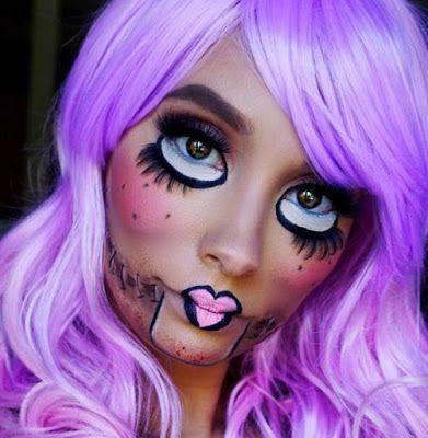 Video paso a paso para hacer Maquillaje de halloween ~ Belleza y Peinados