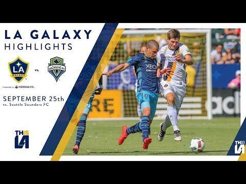 LA Galaxy vs. Seattle Sounders Highlights  MLS   September 25, 2016