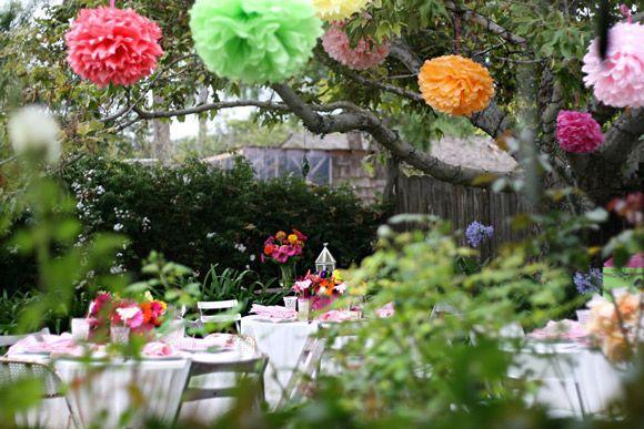 feest in tuin - Google zoeken
