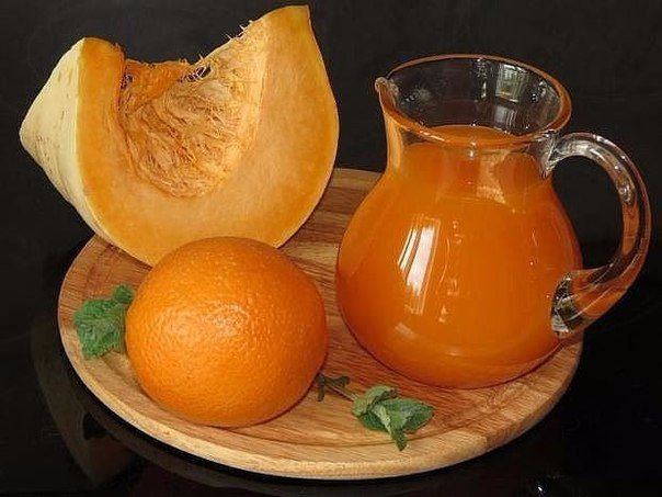 Тыквенный сок с апельсином Сохрани себе на стену, чтобы не потерять тыква 7… | Кулинарные рецепты c фото