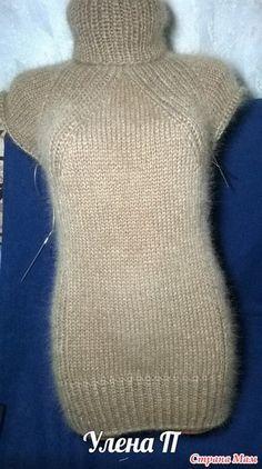 Мой новый ленивый способ вязания реглана сверху без швов. Свитер. Дополнила. - Вязание - Страна Мам