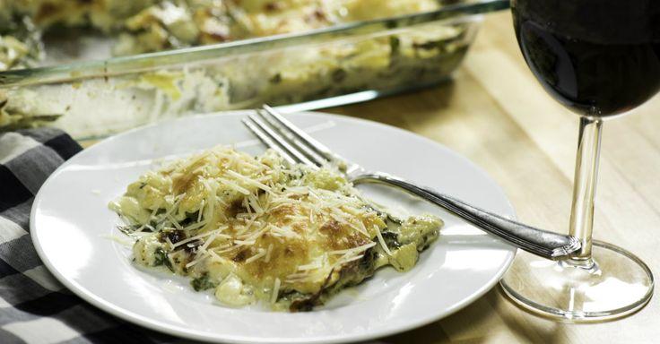 Spinach & Artichoke Ravioli Casserole
