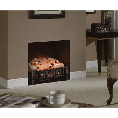 Duraflame Birch Electric Log Insert Heater — 4600 BTU, 1350 Watts