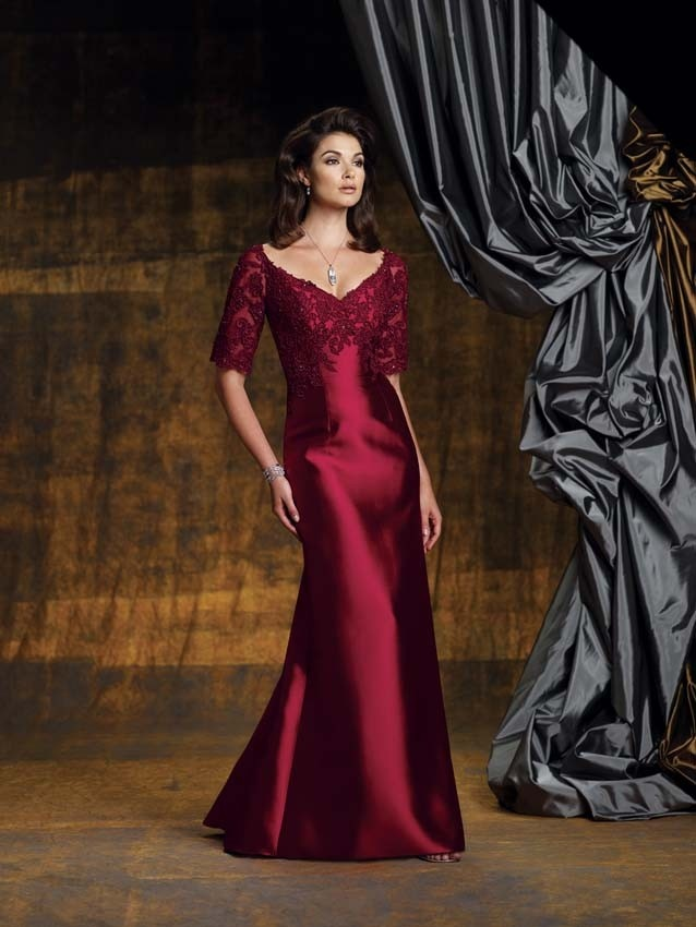 Silk Taffeta Ball Gowns Mother of the Bride