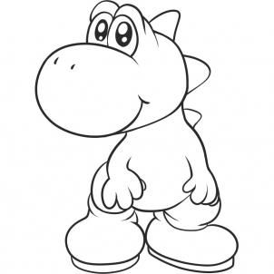 How to Draw Yoshi, Step by Step, Video Game Characters, Pop Culture, FREE Online Drawing Tutorial, Added by Dawn, March 18, 2011, 3:23:41 pm