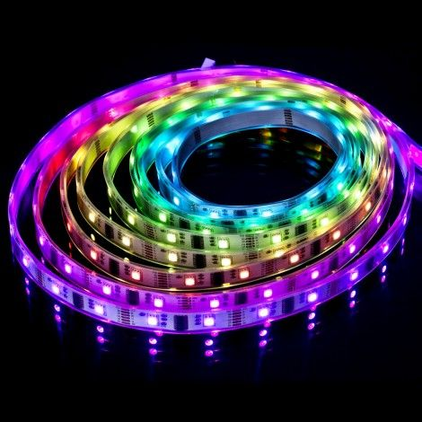 Remote Control 5050 Color Changing LED Strip 16ft5m