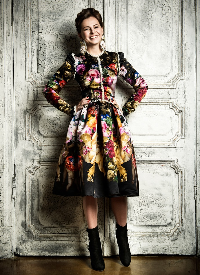 Потрясающее платье! из Фотопроекта к 15-летию Marie Claire Russia, Buro 24/7
