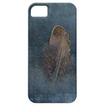 Feather with Meaning iPhone 5 Cases