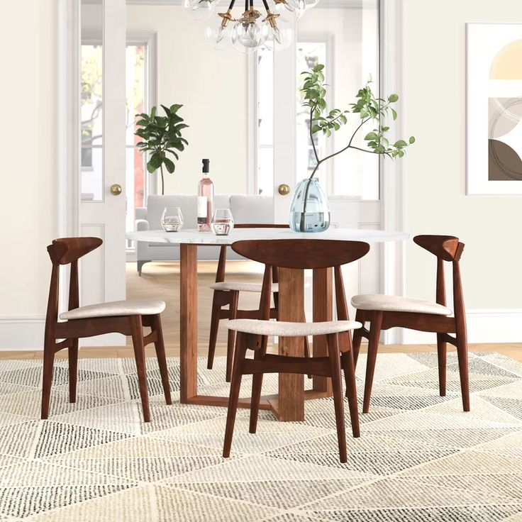 Side Chairs Dining Upholstered, Wayfair Dining Room Side Chairs
