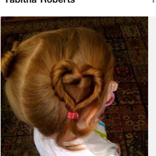 Heart pigtails
