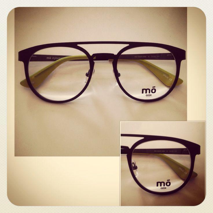 Montura mó eyewear doble puente negra