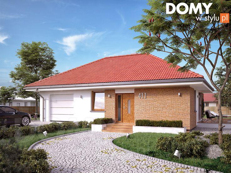 Mały projekt domu Imbir 3 (55 m2). Pełna prezentacja projektu dostępna jest na stronie: https://www.domywstylu.pl/projekt-domu-imbir_3.php #imbir #domywstylu #mtmstyl #projekty #projektygotowe #domynowoczesne #projekt parterowy #domparterowy #dom #domy #projekt #projektydomów #projektydomow #budowadomu #budujemydom #design #newdesign #home #houses