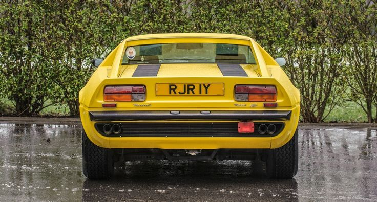 Best Dubai Luxury And Sports Cars In Dubai: Maserati Merak SS: The essential 70s wedge