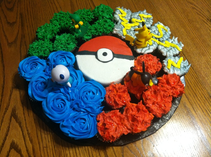 Easy Homemade Pokemon Cake