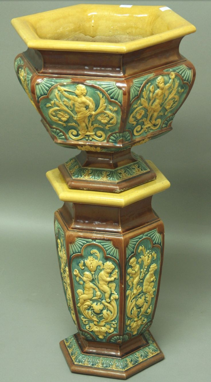 6558 best urns vases ewers images on pinterest vases jars a doulton lambeth majolica jardiniere and stand urnpedestalvases victorianjarsvase reviewsmspy