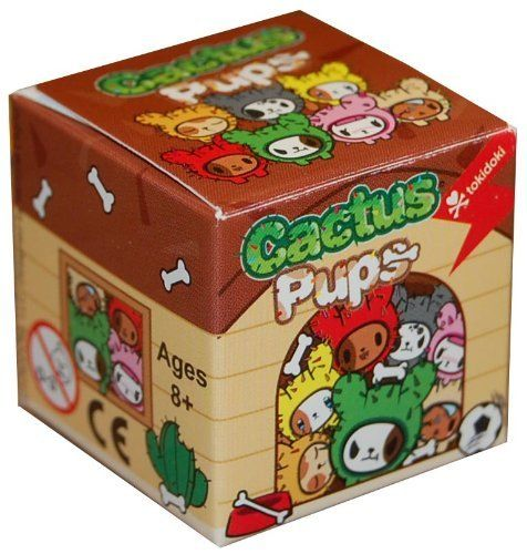 Lot of 10 - tokidoki Cactus Pups Blind Box (sealed)