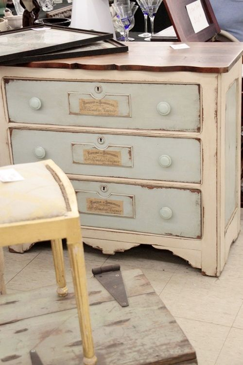 Painted Dresser 2