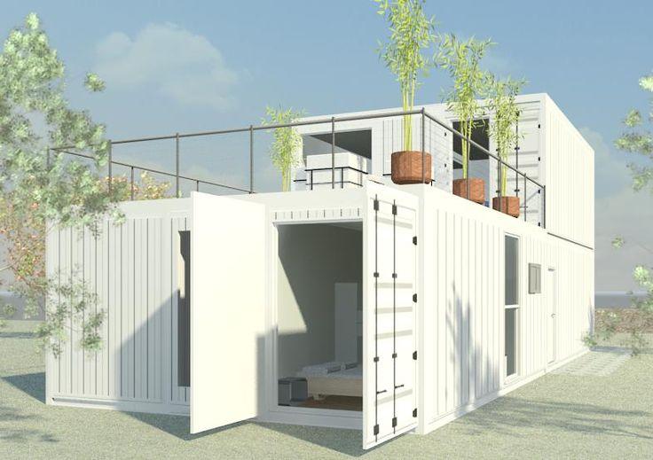 As 25 melhores ideias de casa container precio no - Casas container precio ...