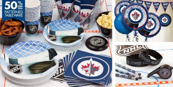 Winnipeg Jets Party Supplies - Party City Canada