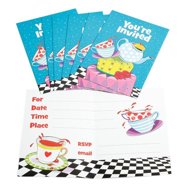 1000+ ideas about Tea Party Invitations on Pinterest | Tea ideas ...