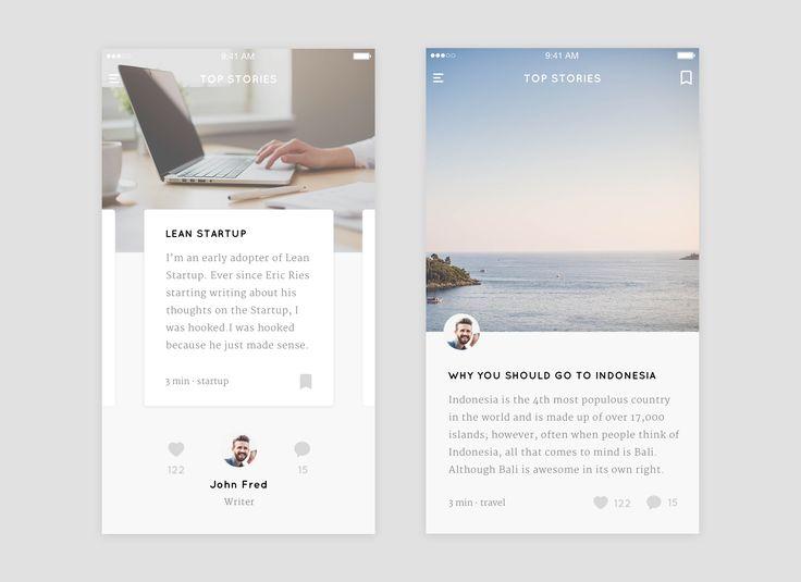 Blog App - Top Stories