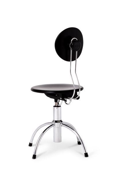 Egon Eiermann . spring swivel stool, for Wilde+Spieth, 1949
