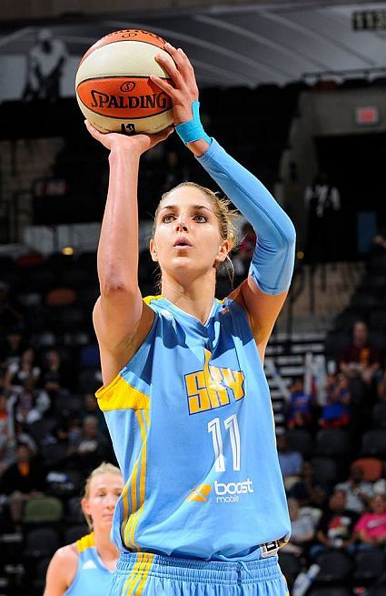 Elena Delle Donne #puttininwork on her foul shots