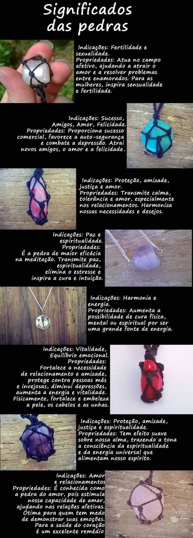 Post sobre significado das pedras preciosas lá no nosso Blog, confere! ;)
