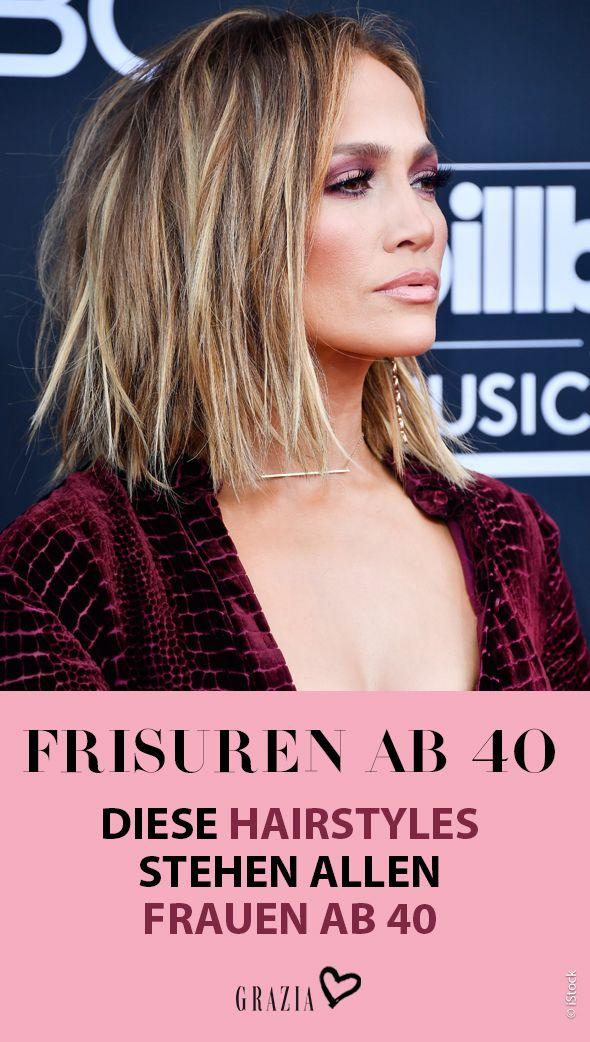Diese Frisuren Stehen Allen Frauen Ab 40 Frisur Ab 40 Styling Kurzes Haar Frauen Ab 40