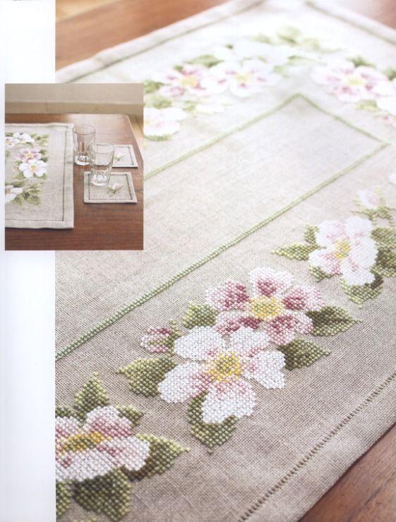 Gallery.ru / Фото #7 - Cross Stitch - Flowers - Marina-Melnik