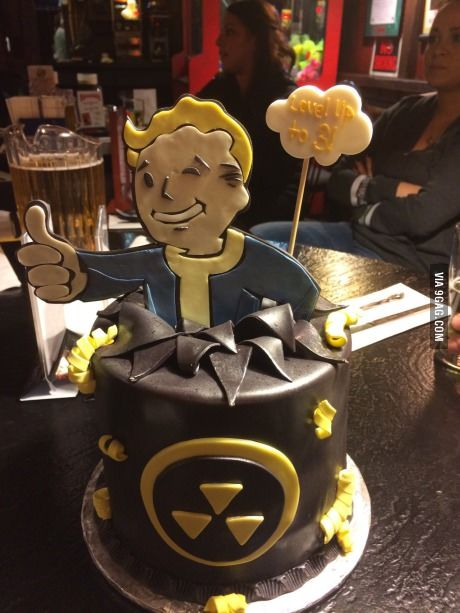15 Best Images About Fallout Cake On Pinterest Fallout 3
